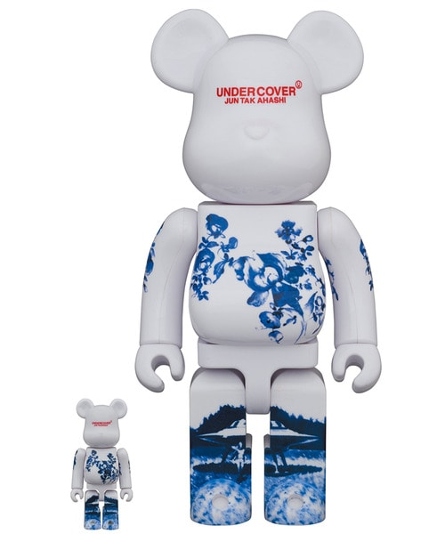 BE@RBRICK 100% & 400% CERAMIC UFO